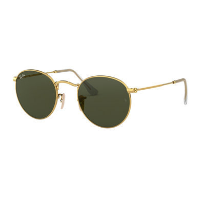 Rayban RB 3447 RB3447 Round Metal Sunglasses
